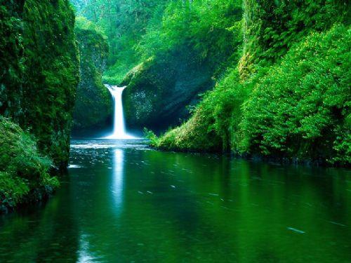 Vodopadi 341-PunchBowlFallsEagleCreekWildernessAreaColumbiaRiverGorgeOregon